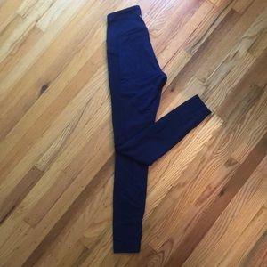 """Wunder Under 28"""" high waisted lululemon leggings"""